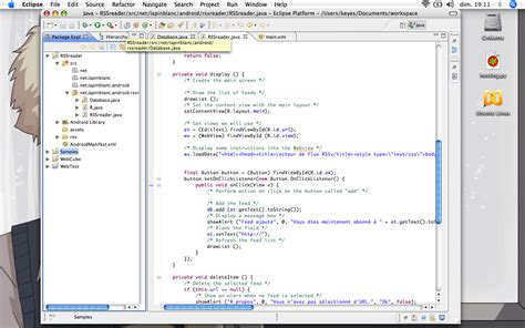eclipse android sdk importera k 228 llkod till eclipse swedroid forum nordens st 246 rsta android community