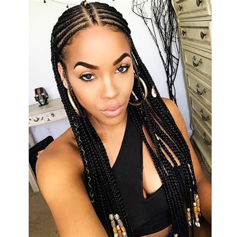 pictures of stylish braids fulani braid inspiration 16 gorgeous fulani braided