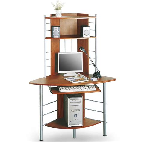 sixbros corner computer desk workstation work table