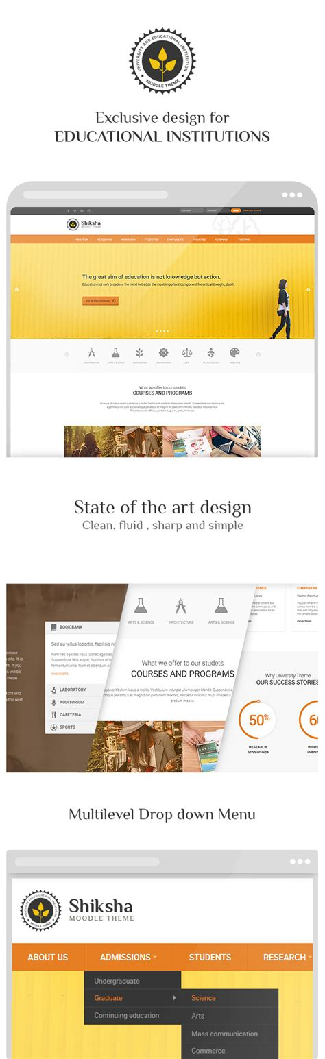 moodle theme custom css shiksha responsive moodle theme the bests best of
