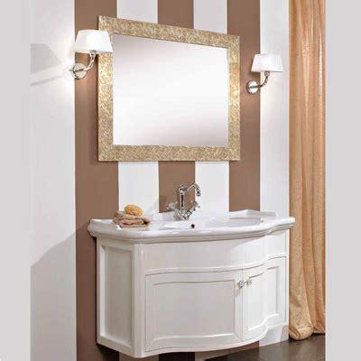mobili bagno contemporanei mobile da bagno contemporaneo curvo da cm 110x61 con
