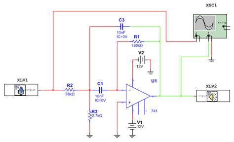 high pass filter using multisim multism wiring schematic 24 wiring diagram images wiring diagrams kreativmind co
