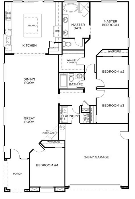 2 story rectangular house plans new single story plan fair oaks ranch plan 5a green