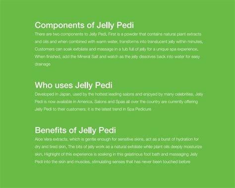 Jelly Foot Spa Kinoki Kaki Jelly Spa buy jelly foot spa detox bath jelly pedi deals for only