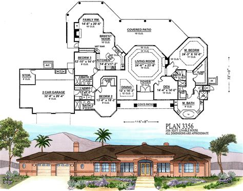arizona house plans plan 3356