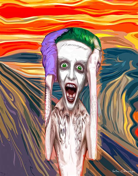 pop artists paintings turned into batman pop