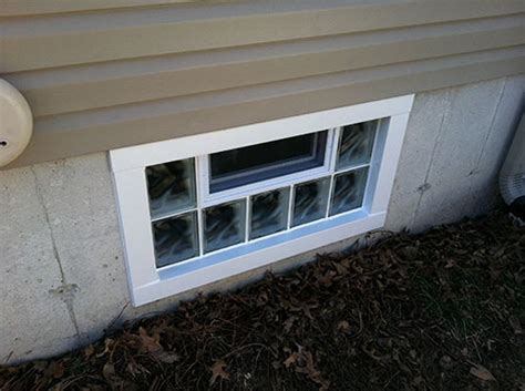 secure basement windows glass block security windows in st louis basement
