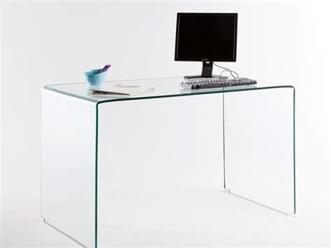 bureau bois verre bureau design verre bureau massif lepolyglotte