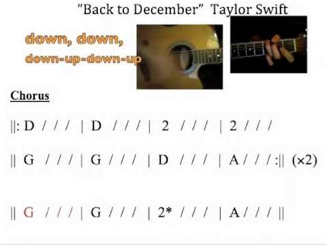 tutorial gitar back to desember back to december taylor swift lyrics guitar back to
