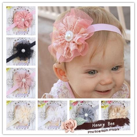 diy 4 quot vintage lace flower frilly hair flowers headbands diy 4 quot vintage lace flower frilly hair flowers headbands