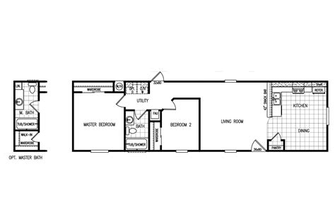 mobile home floor manufactured home floor plan 2009 karsten cabana bali