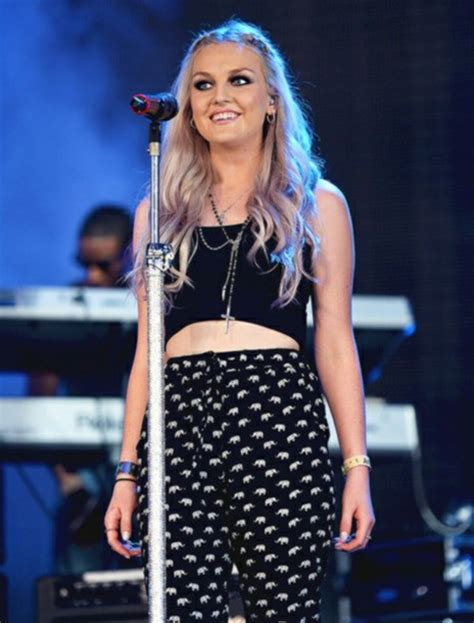 perrie edwards lace shirt pants blue black perrie edwards little mix elephant