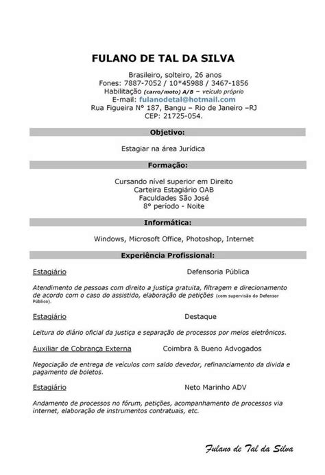 Modelo De Curriculum Vitae Simple En Word Gratis Curr 237 Culo Do Jovem Aprendiz Curr 237 Culos Inteligentes