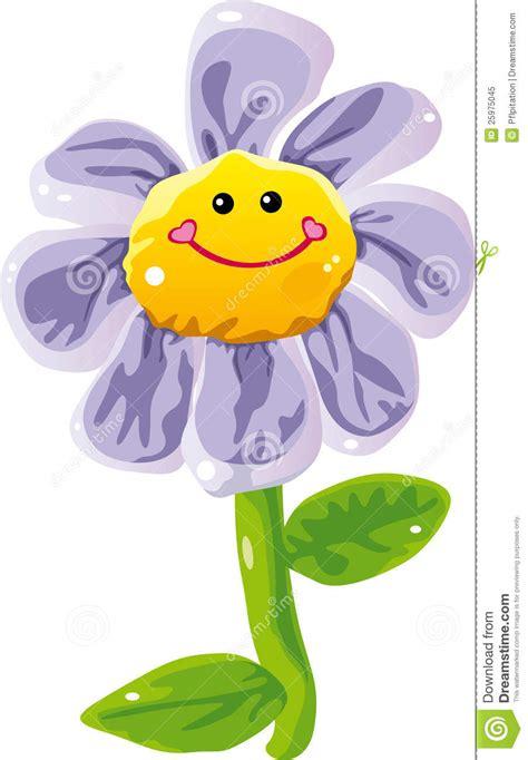 cartoon flower royalty  stock photo image