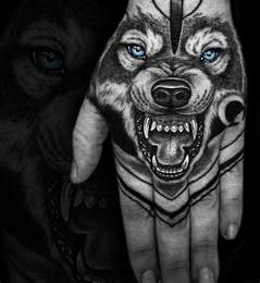 wolf tattoo images amp designs