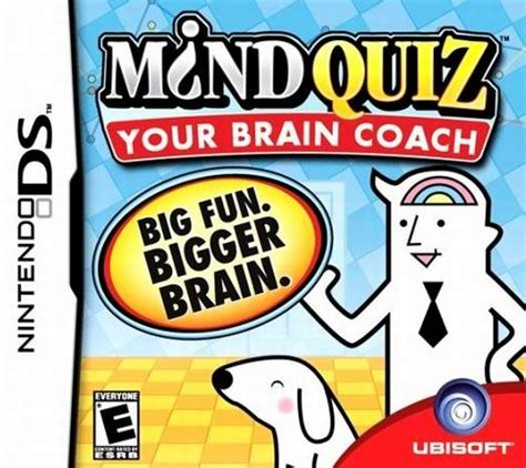 Mind Quiz Sony Psp mind quiz your brain coach ds