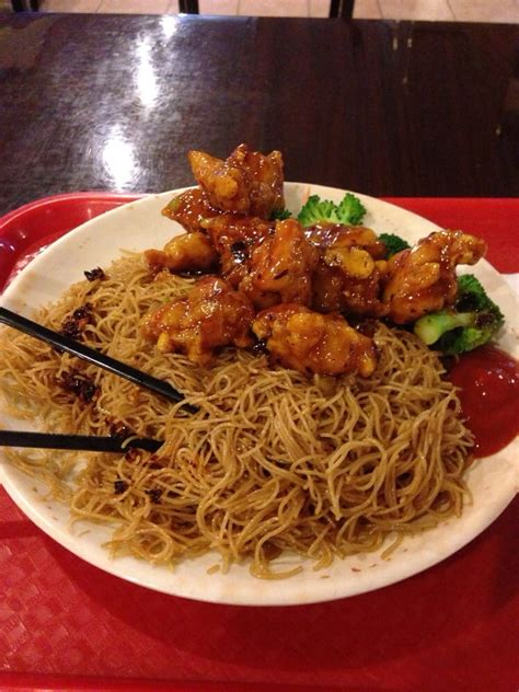 House Of Noodles by General Tso S Chicken W Fried Rice Noodles Yelp
