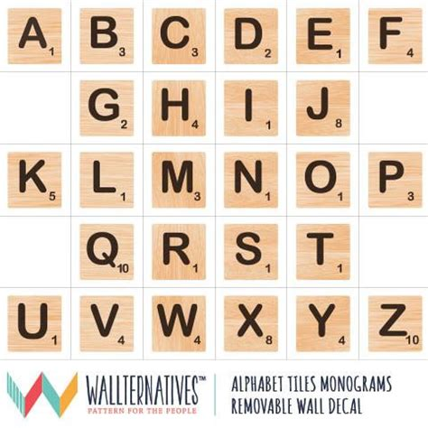 scrabble for free without wall mural decals removable wall graphics fabric wall