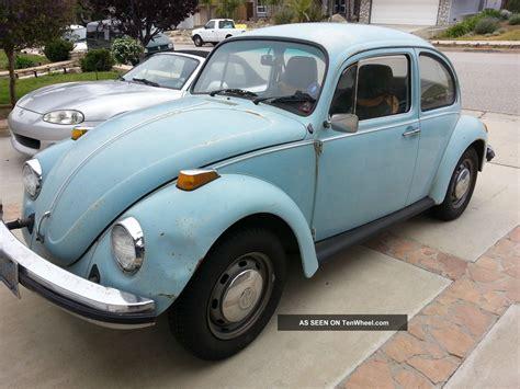 volkswagen old beetle 1974 vw beetle bug classic