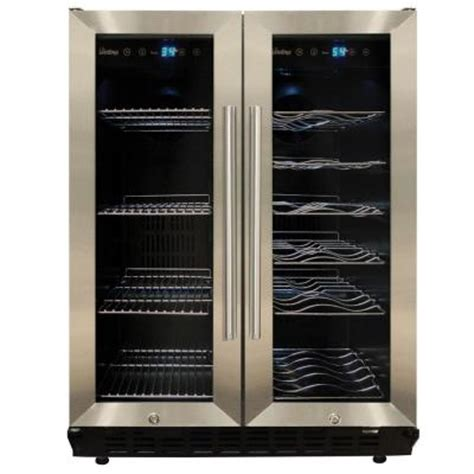 vinotemp dual zone wine and beverage cooler vt 36 the
