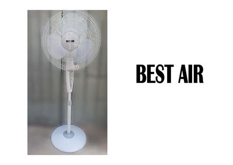 best air fans best air stand plastic fan 16 homemark