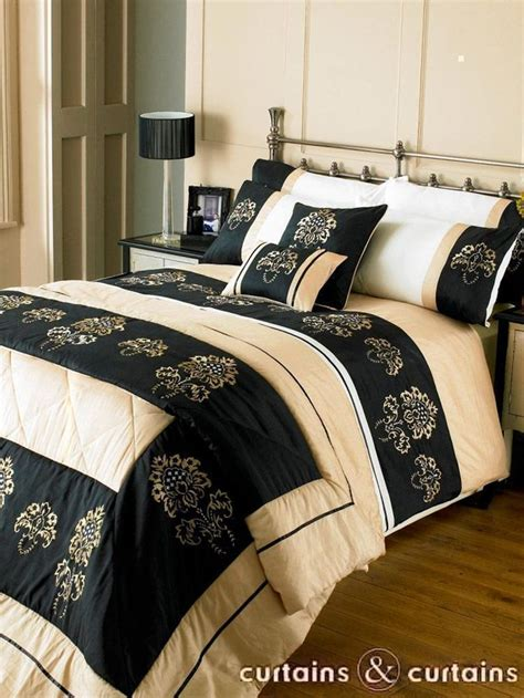 Black And Gold Bedding Sets 1000 Images About Bedding On Black Gold Gold