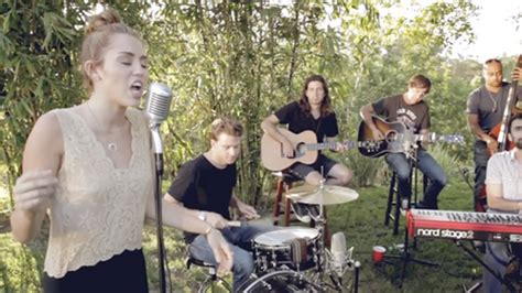 backyard session miley cyrus releases new music jolene cover from backyard