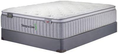 sleep to live series 400 blue blue xl mattress