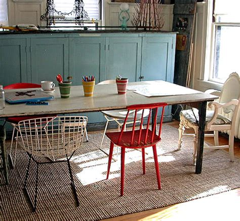Mixing Dining Room Chairs by Treasure Hunting Chairs Design Sponge