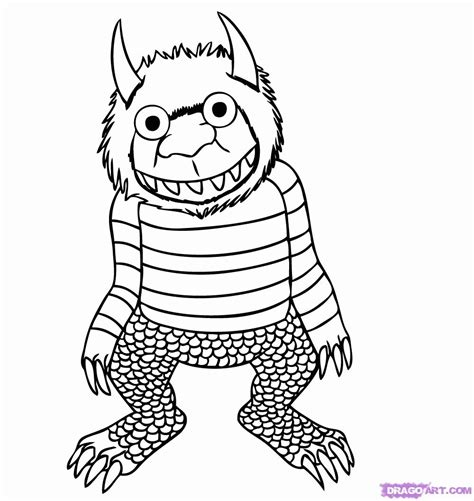 where the things are coloring pages where the things are printable coloring pages