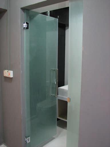 glass bathroom door frosted glass door for common toilet kitchen bathroom renotalk com