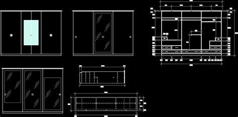 closet  bedroom dwg block  autocad designs cad