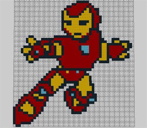 Kaos Ironman 8bit Ironman 1 8 bit lego iron by munsenthebiscuit69 on deviantart