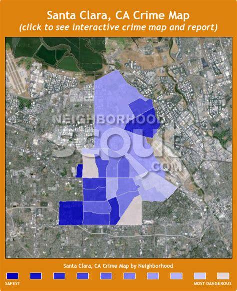 santa clara map santa clara ca crime rates and statistics neighborhoodscout