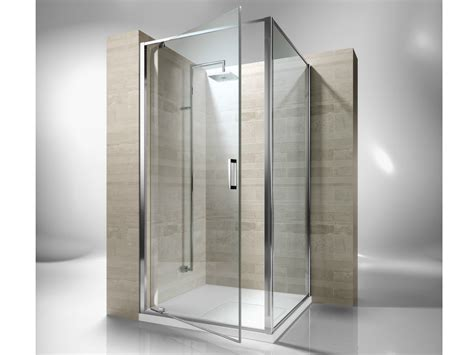 doccia gf corner custom tempered glass shower cabin junior ga gf by