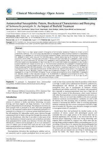 pattern energy transcript biochemical reactions pattern of salmonella paratyphi a