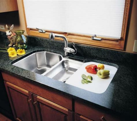 undermount sink with drainboard 5 drainboard kitchen sinks you ll