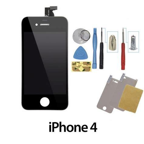 ecran iphone 4 complet vitre lcd noir