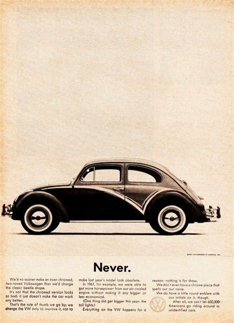 who created the lemon advert for volkswagen 17 best images about 60 s vw ads by ddb on