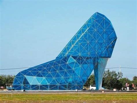 taiwan church shaped like a shoe taiwanese town builds church shaped like a shoe to attract