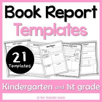 Book Report For 1st Grade