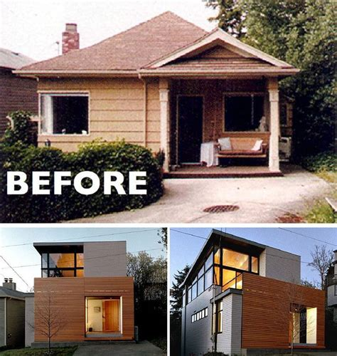 House Exterior Design Before And After by 7 Best Before After Exterior Remodel Images On