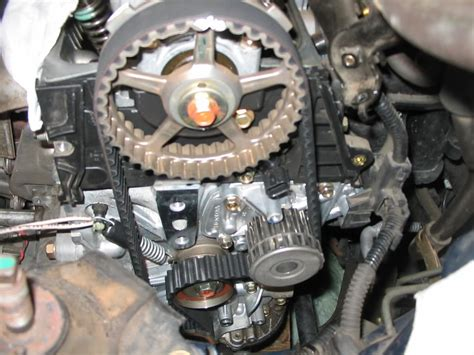 6877 Tensioner Timing Honda New Civic 1 8 Kanan 2003 civic timing belt diy honda civic forum