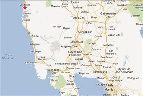 dawal resort map dawal resort candelaria see my philippines