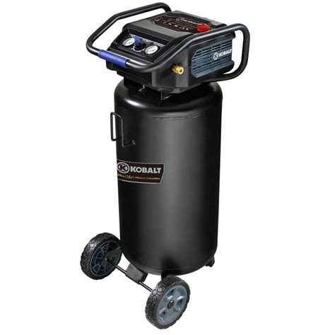 kobalt 26 gallon portable electric vertical air compressor at lowes