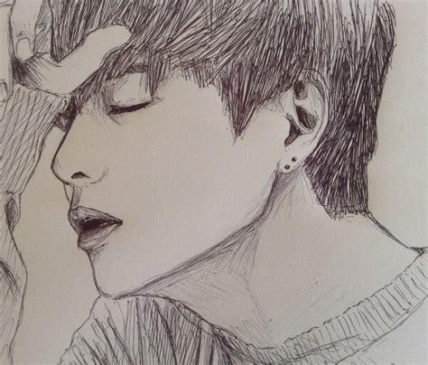 V Drawing Easy by Taehyung By Yellowharuka On Deviantart