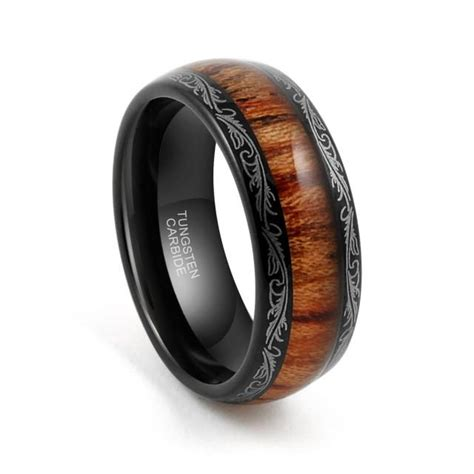 Tungsten Carbide Ring Wedding by Tungsten Wedding Band Tungsten Carbide Tungsten Ring 8mm