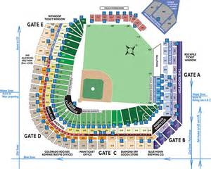 colorado rockies seat map season tickets colorado rockies