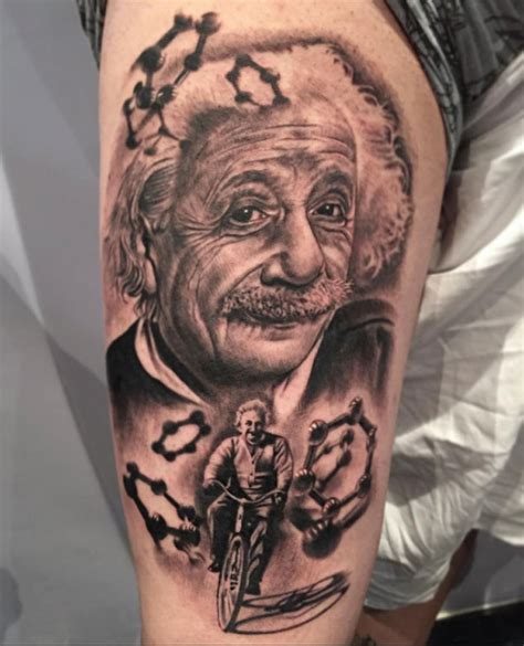 albert einstein tattoo 15 albert einstein tattoos tattooblend