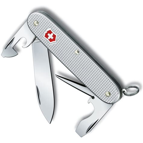 victorinox pioneer black alox scales alox handle folding pocket knives victorinox knife